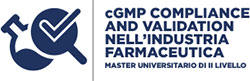 cGMP Compliance and Validation nell'industria farmaceutica Logo